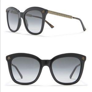 Brand new Gucci 52mm cat eye sunglasses 🕶